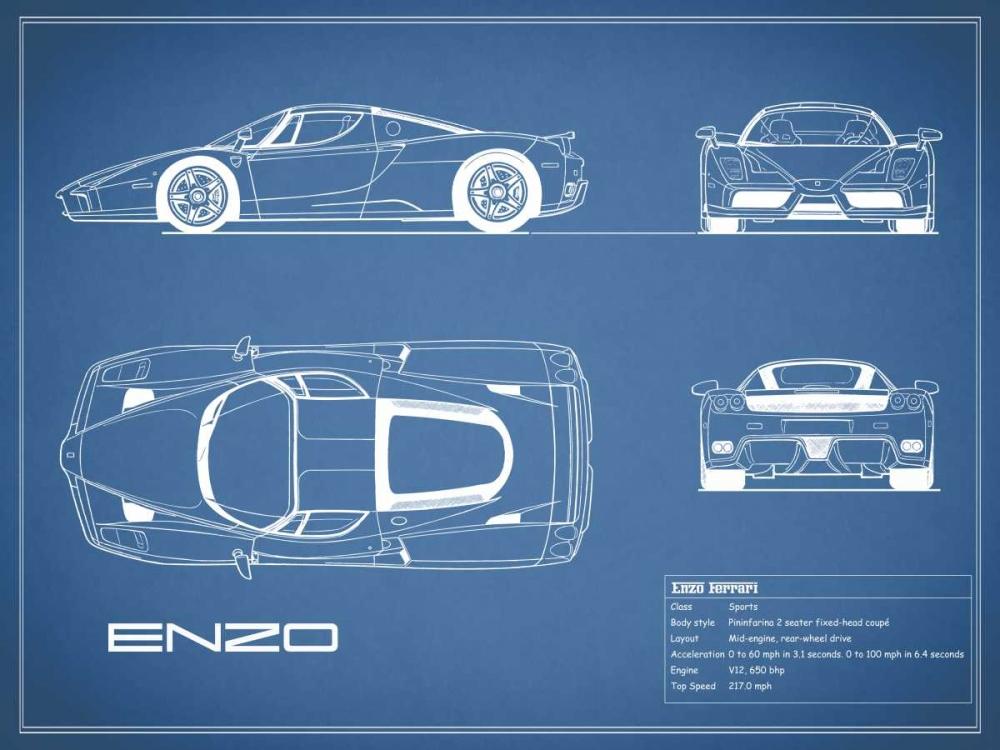 Ferrari Enzo-Blue