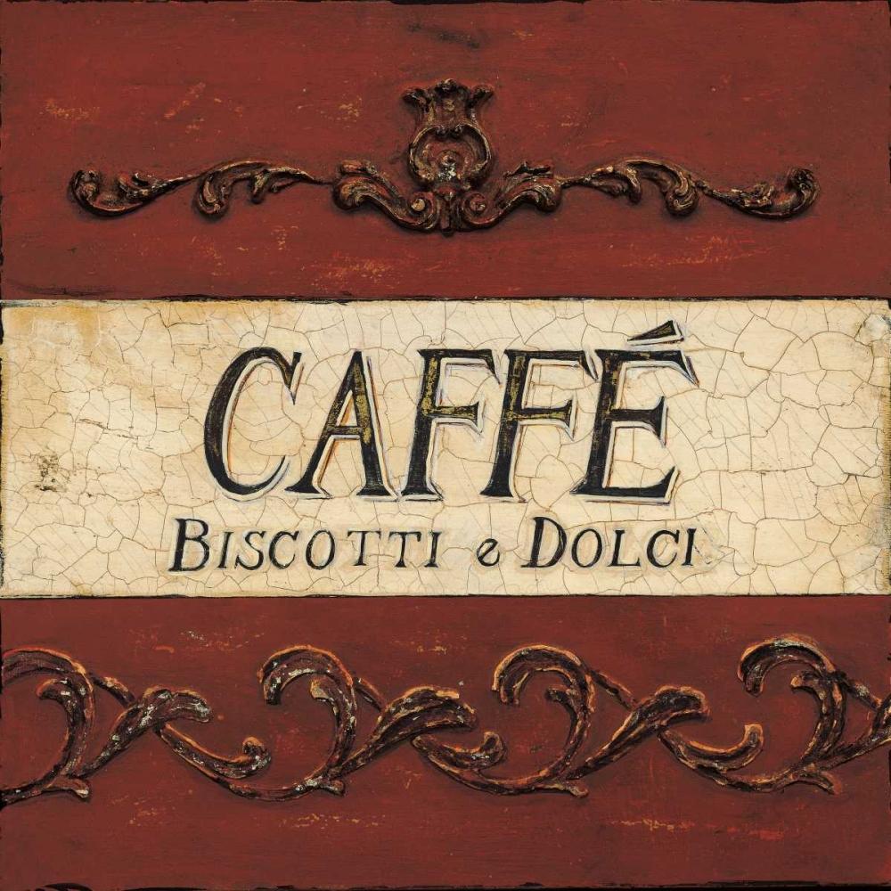 Caffe Biscotti Plaque