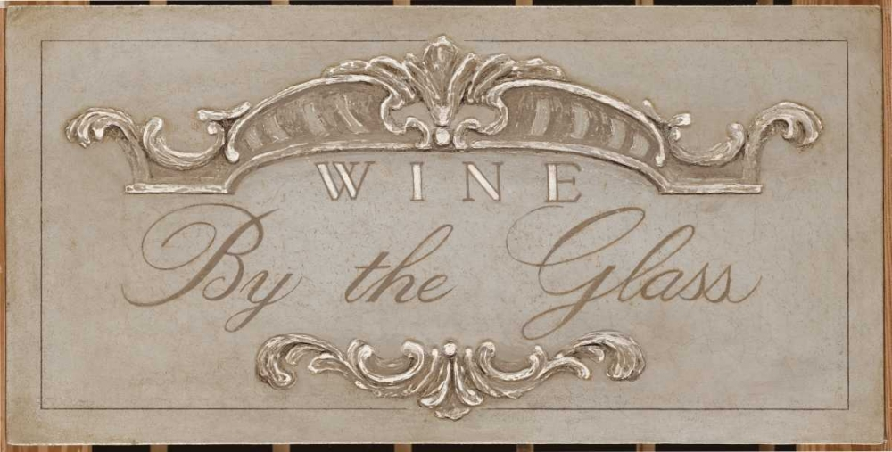 Announcing Wine By the Glass