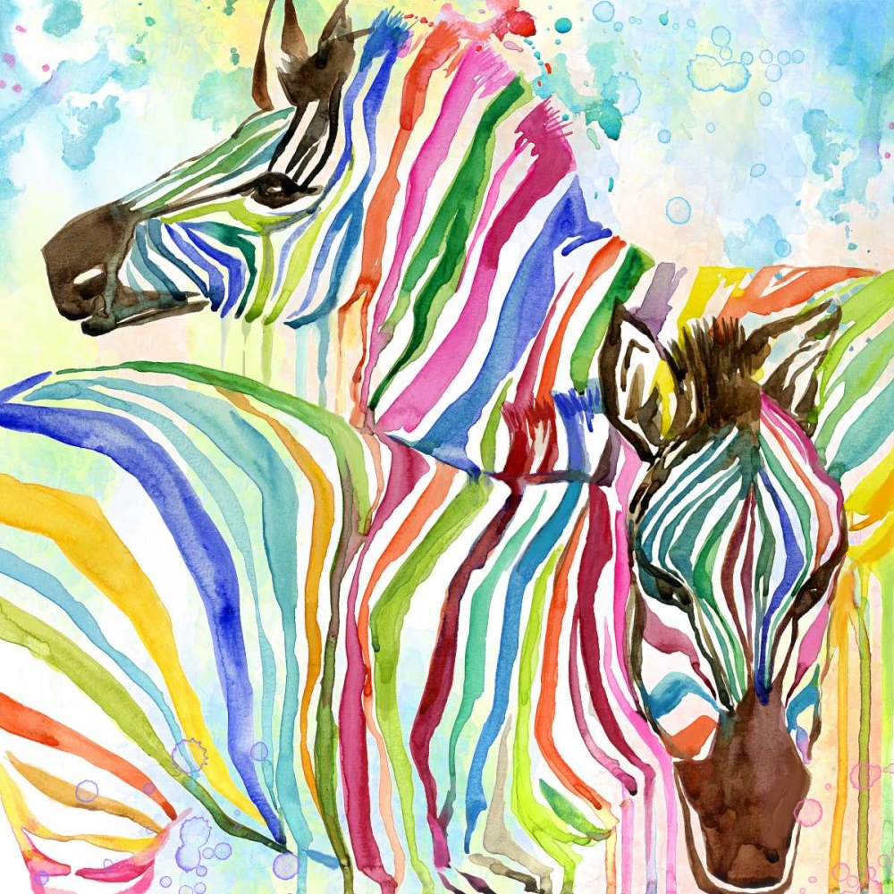 Multicolor Zebras