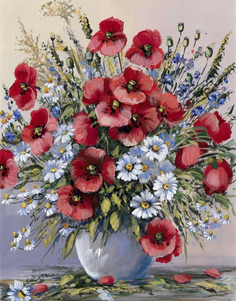 Anna paleta works by the artist - Bouquet de fleurs des champs ...