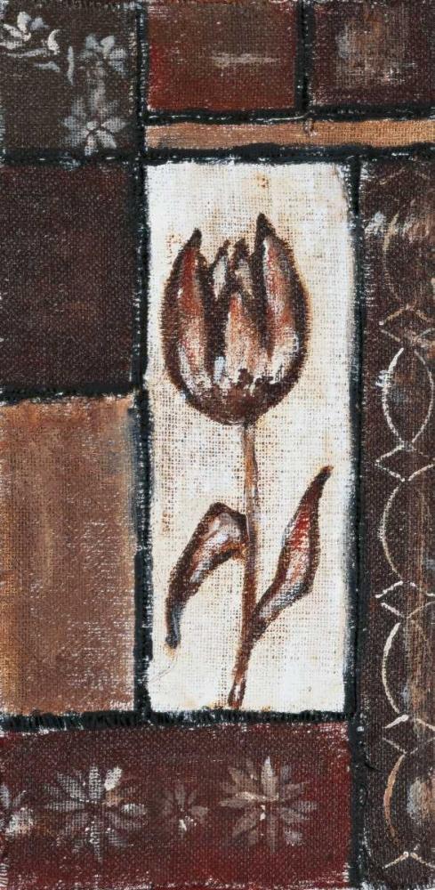 Floral brown II