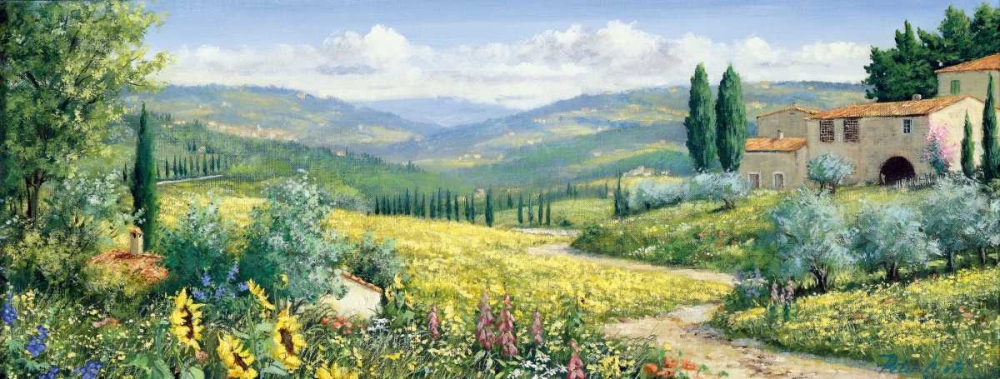 View over Toscane