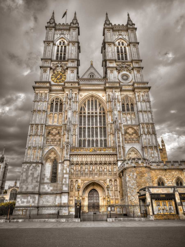 Famous Westminster Abby in London, UK