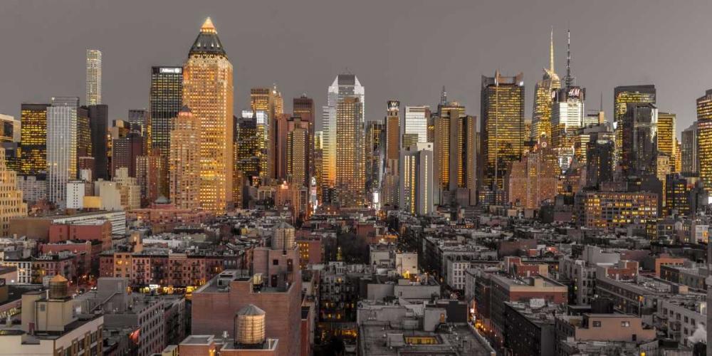 Lower Manhattan cityscape, New York