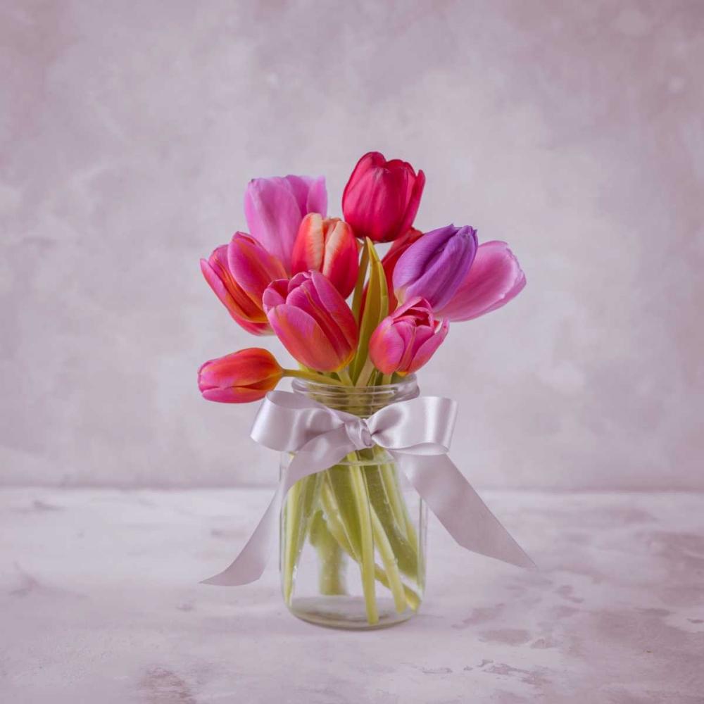 Ranuncuclus flowers in a vase