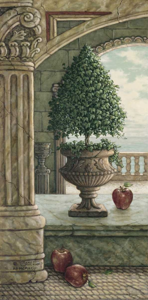 Apple and Topiary
