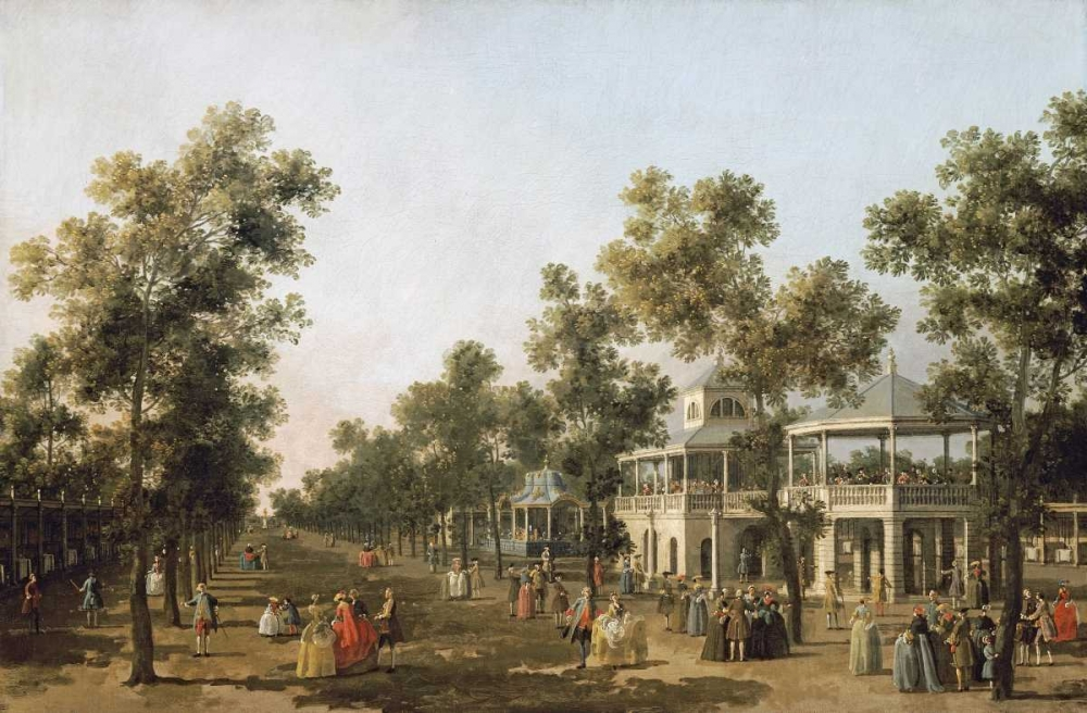 View of The Grand Walk, Vauxhall Gardens
