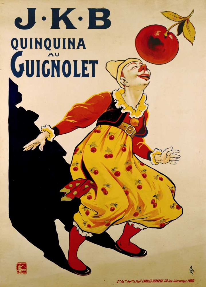 J.K.B, Quinquina Au Guignolet
