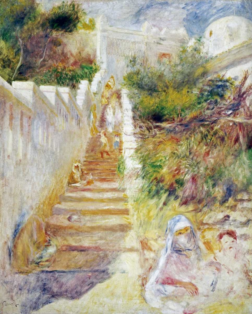 The Steps, Algiers