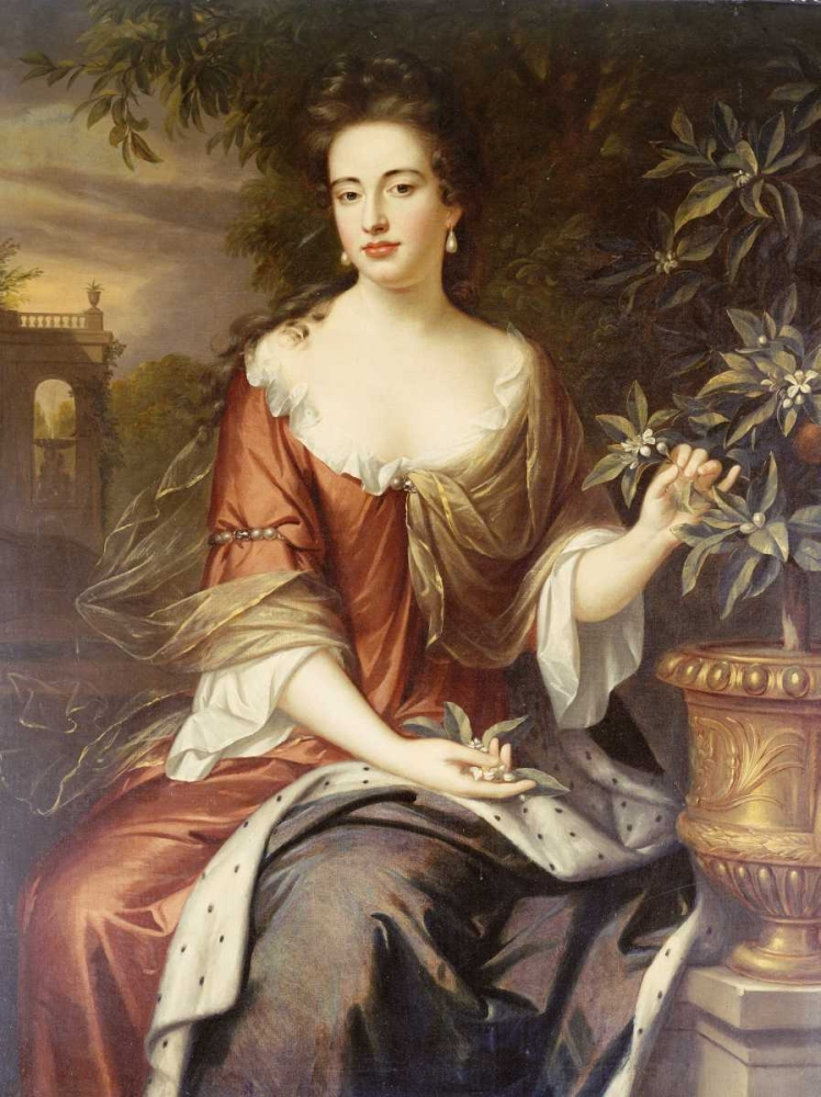 Portrait of Queen Mary II