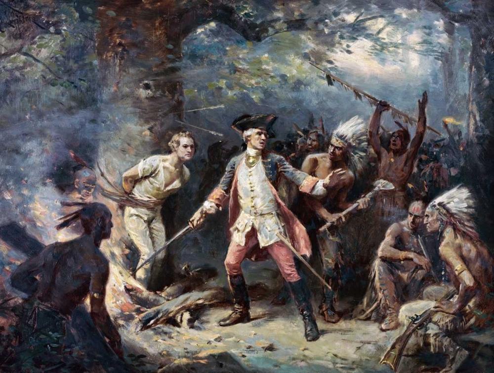Rescue of Major Israel Putnam