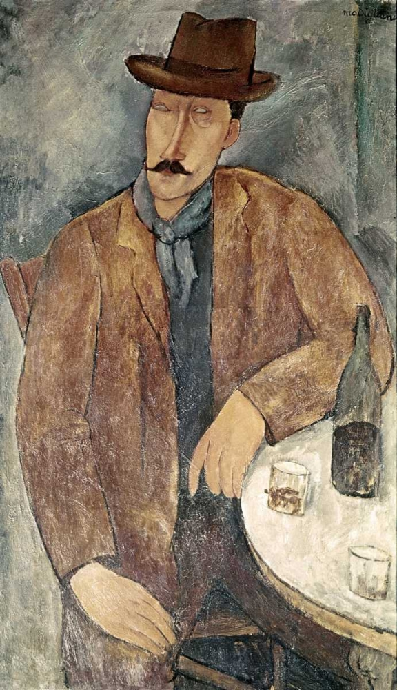 Man With a Wine Glass