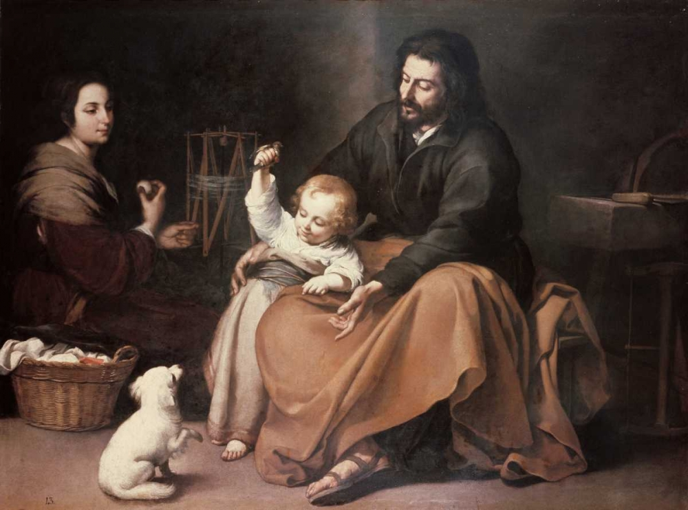 Holy Family With a Bird