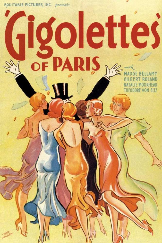 Gigolettes of Paris, 1929