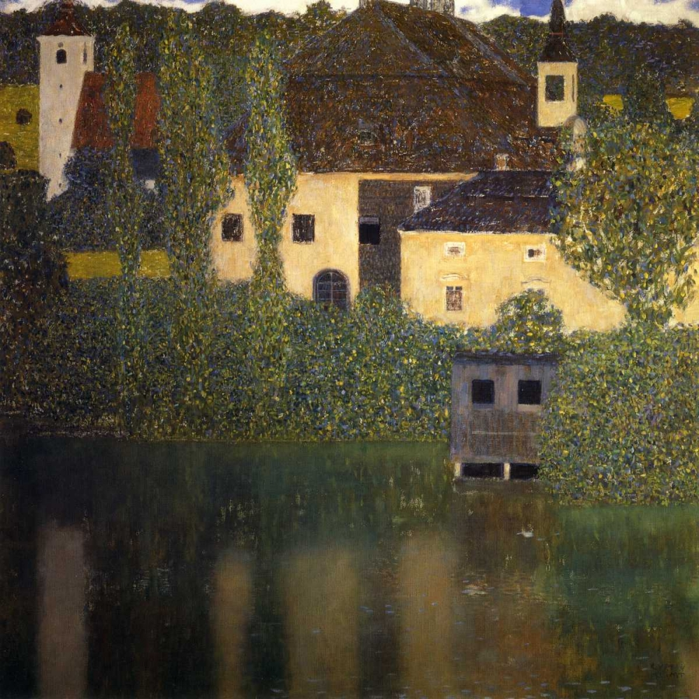 Schloss Kammer On The Attersee I 1908