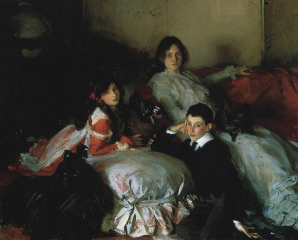 Essie, Ruby, and Ferdinand, Children of Asher Wertheimer