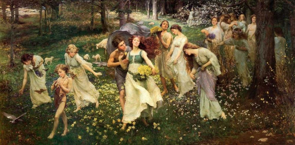 Ward The Progress Of Spring 1905