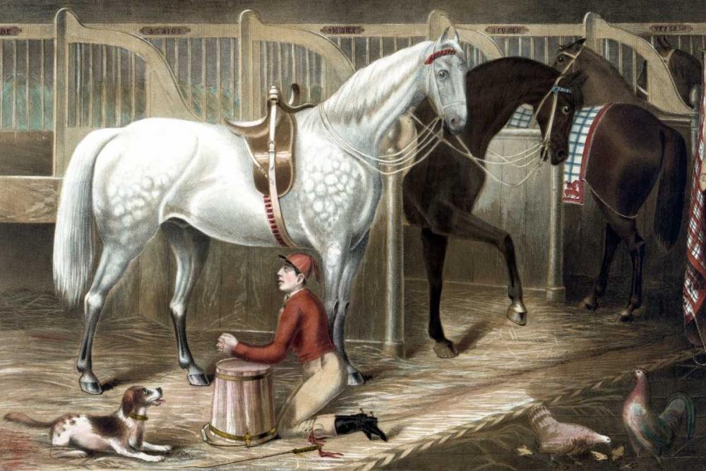 The Jockeys prayer