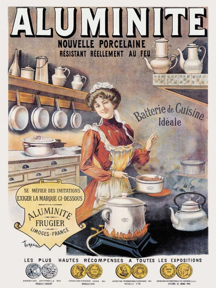 Cooks: Aluminite