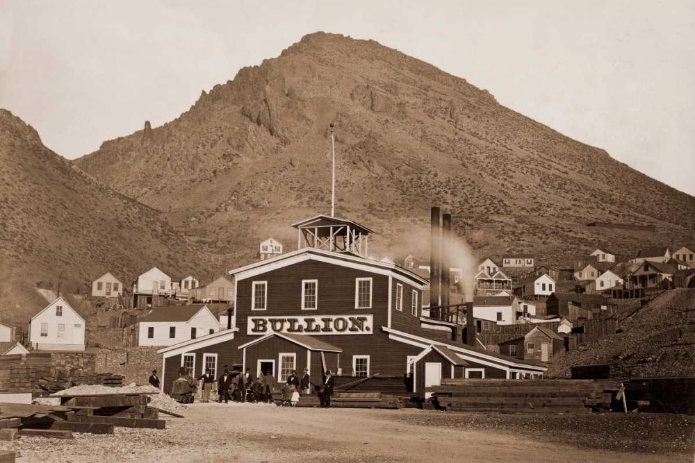 The Bullion Mine, Virginia City, Nevada, 1880