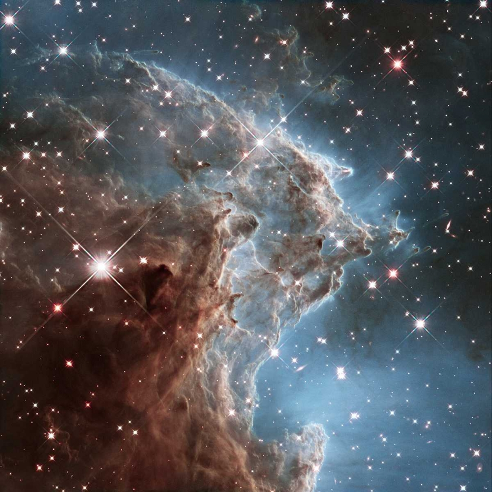 Infrared View of NGC 2174