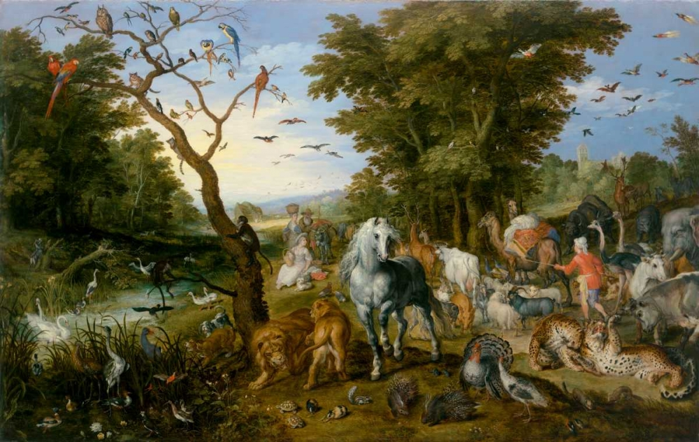 The Entry of the Animals into Noahs Ark