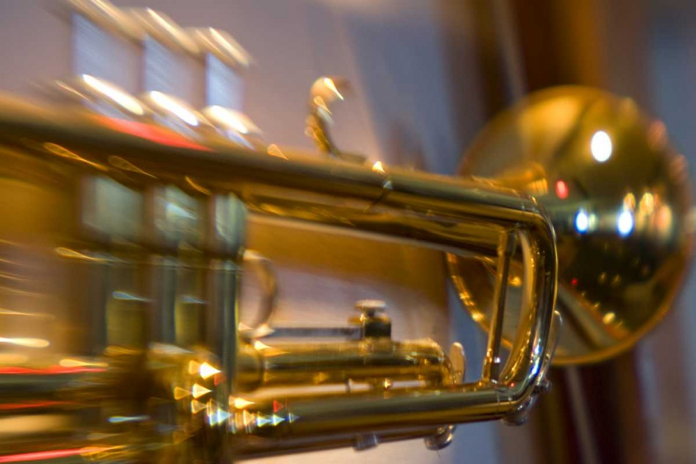 French Polynesia Brass trumpet used in band