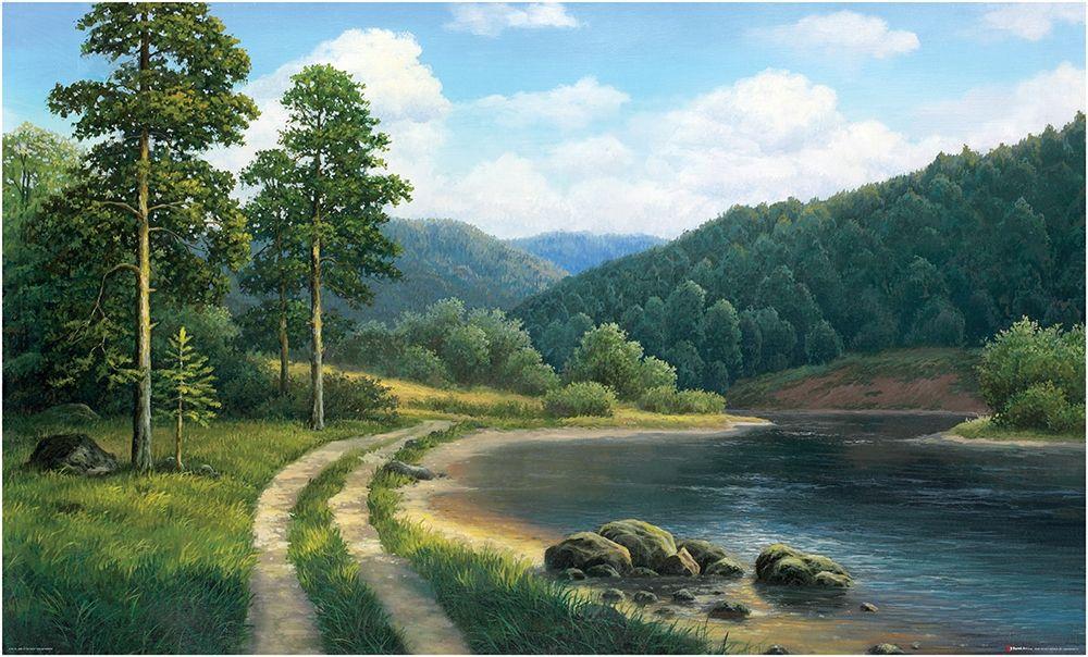 Картинки анимация речка