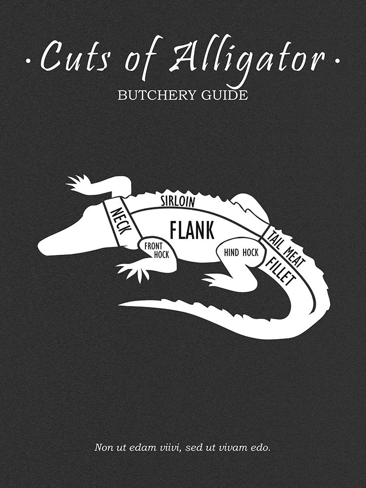 Butchery Alligator