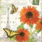 Carte Postale Sunflowers I