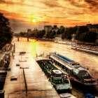 River Seine at Sunset I