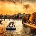 River Seine at Sunset II