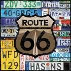 Route 66 Plates