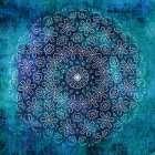 Indigo Turquoise Mandala 1