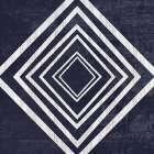 Indigo Geometrical Gem 4