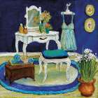 Blue Boudoir I