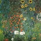 Farm Garden with Sunflowers, 1906