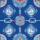 Nautical Navigation Pattern IV