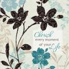 Botanical Touch Quote I
