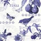 Botanical Blue III