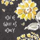 Bee Happy III Black