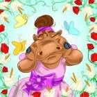 Hippopotamus ballerina
