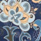 Paisley Blossom Blue I