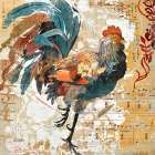 Rooster Flair I