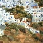 Santorini Hillside III