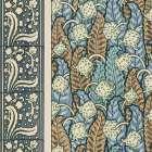 Nouveau Textile Motif IV