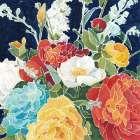 Midnight Florals I