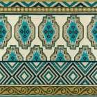 Turquoise Textile IV
