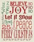 Christmas Typography Linen